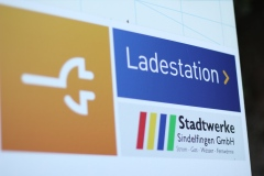 Eine Ladestation der EnBW, im Netzgebiet der Stadtwerke Sindelfingen.