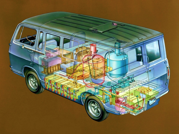 The General Motors Electrovan celebrates its 50th anniversary as