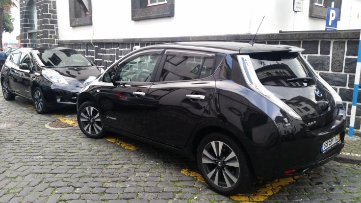 Nissan Leaf auf den Azoren