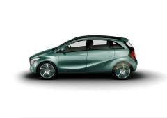 Die Konzeptfahrzeuge BlueZERO. Hier die Variante F-CELL mit Brennstoffzelle. (Foto: © Daimler AG)