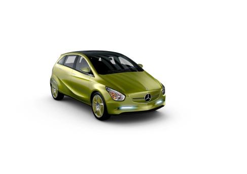 Die Konzeptfahrzeuge BlueZERO. Hier die Variante E-CELL mit batterielektrischem Antrieb. (Foto: © Daimler AG)