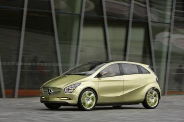 Der Mercedes-Benz E-CELL. Ein Konzeptfahrzeug mit batterielektrischem Antrieb. (Foto: © Daimler AG)
