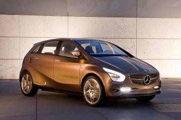 Der Mercedes-Benz E-CELL PLUS. Ein Konzeptfahrzeug mit batterielektrischem Antrieb und Range-Extender. (Foto: © Daimler AG)