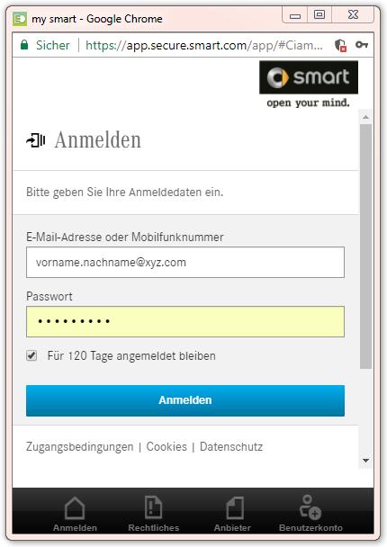 VHP_Anmelden