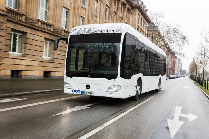 Mercedes-Benz Citaro mit vollelektrischem Antrieb