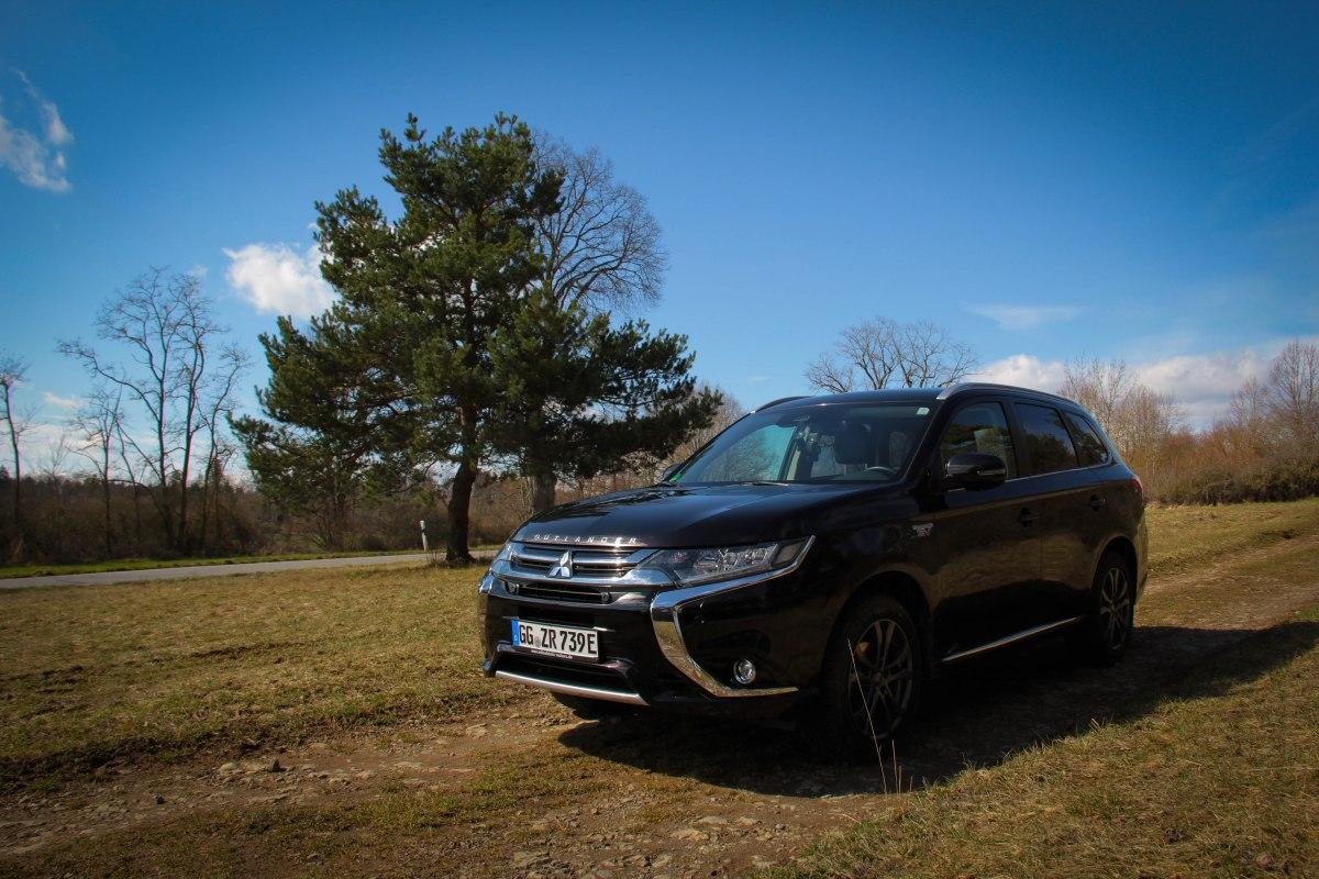 14 Tage mit dem Mitsubishi Plug-in Hybrid Outlander - Teil 2: Der Fahrbericht