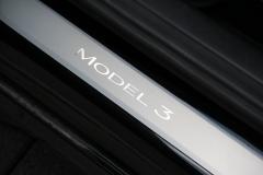 Einstiegsleisten des Model 3.