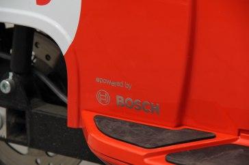Die Schwalbe verfügt über Technik von Bosch.