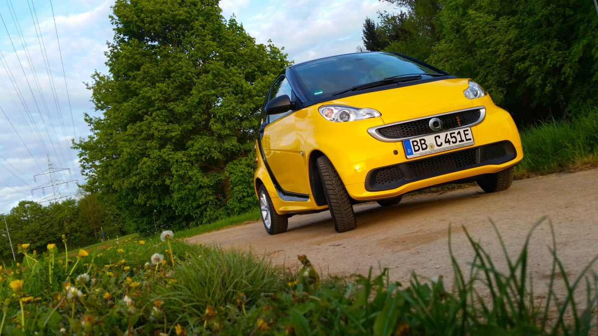 Die Technik des smart fortwo electric drive