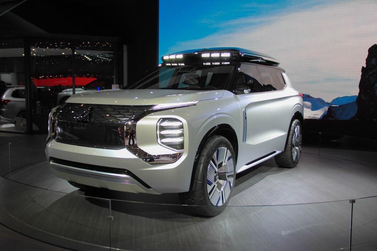 Genf häppchenweise - Teil 3: Der Mitsubishi Engelberg Tourer