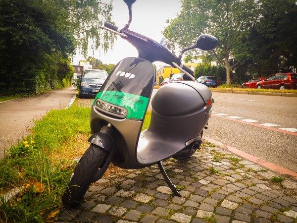 COUP Roller in Tübingen